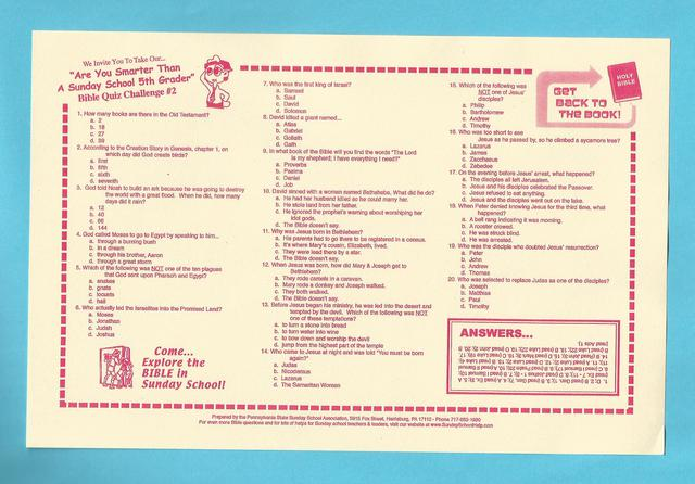 each placemat contains 22 different bible trivia questions related to christmas the placemats come in packs of 25 and are priced at just 500 each